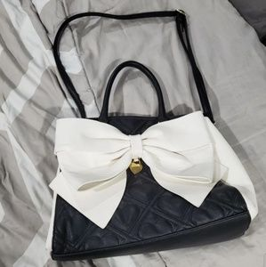 Betsey Johnson Bow Detail Purse
